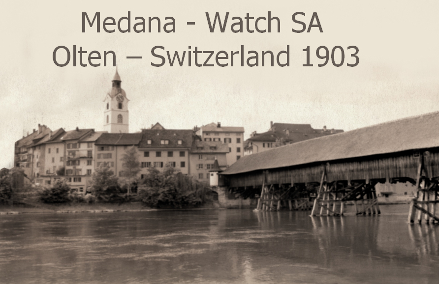 Medana Hodiny Swiss Made - Replica Watches