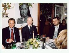 Kolacja Wiedeń 2003, Thomas Koblmueller, Władek Meller, Konrad Łodziński