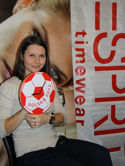 Klaudia Jans Euro 2012 Esprit