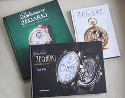 książki o zegarkach i zegarmistrzostwie