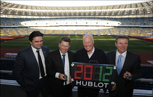 Hublot Uefa 2012