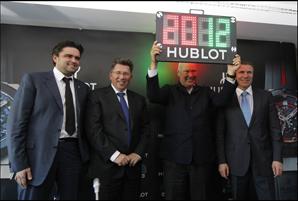 Hublot Uefa 2012 prezentacja 02
