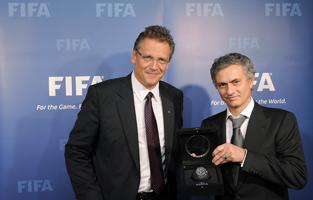 Gala Złotej piłki Jose Mourinho