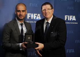 Gala Złotej Piłki Josep Guardiola